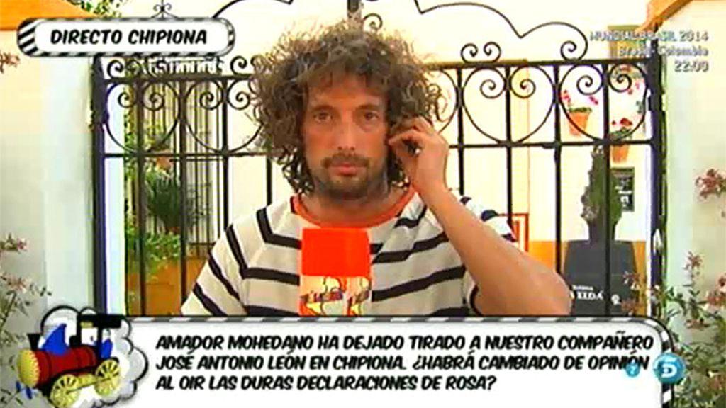 Tras la llamada de Rosa Benito, Amador Mohedano prefiere no intervenir en 'Sálvame'