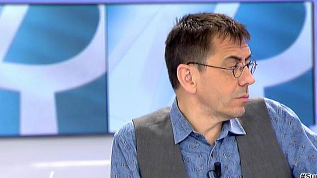 """Juan Carlos Monedero: """"PP, PSOE y C's han demonizado a Unidos Podemos"""""""