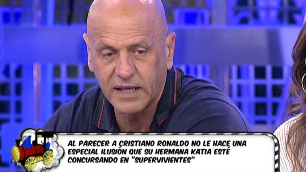 """Kiko Matamoros: """"Cristiano Ronaldo podría apoyar públicamente a su hermana Katia"""""""