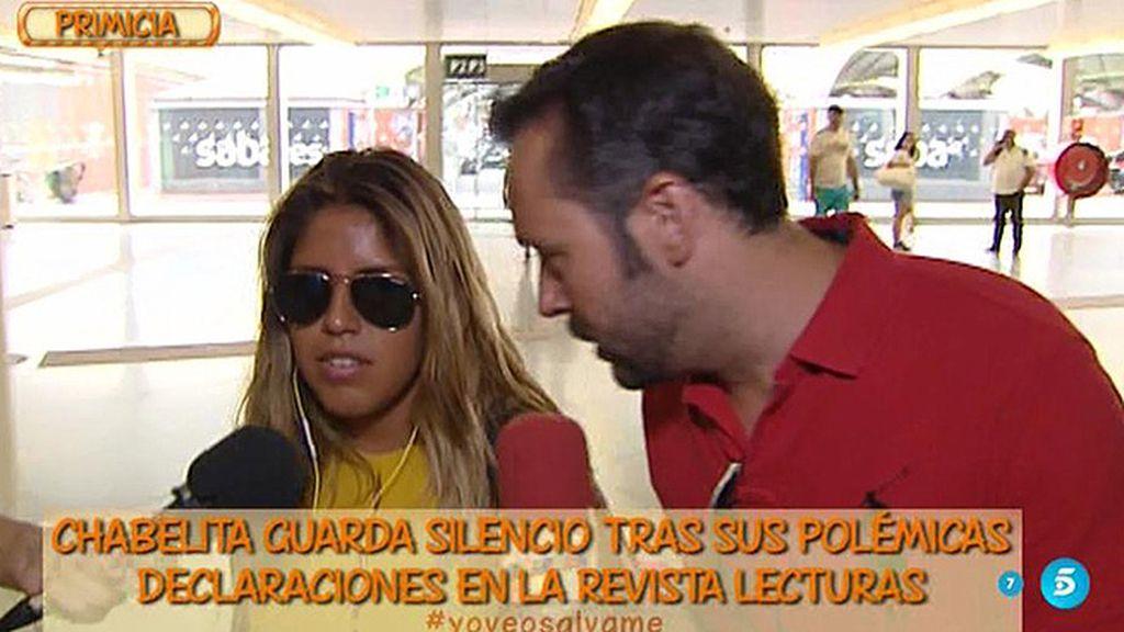 "Chabelita, sobre Kiko Rivera: ""Me perdonará"""