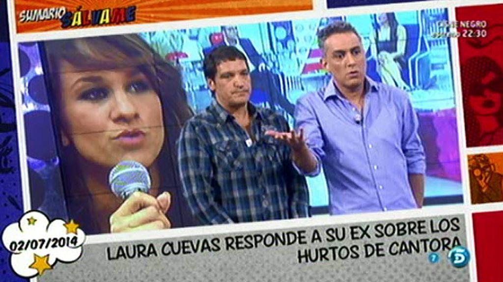 """Laura Cuevas: """"Jamás he robado, ni siquiera un alfiler de Cantora"""""""