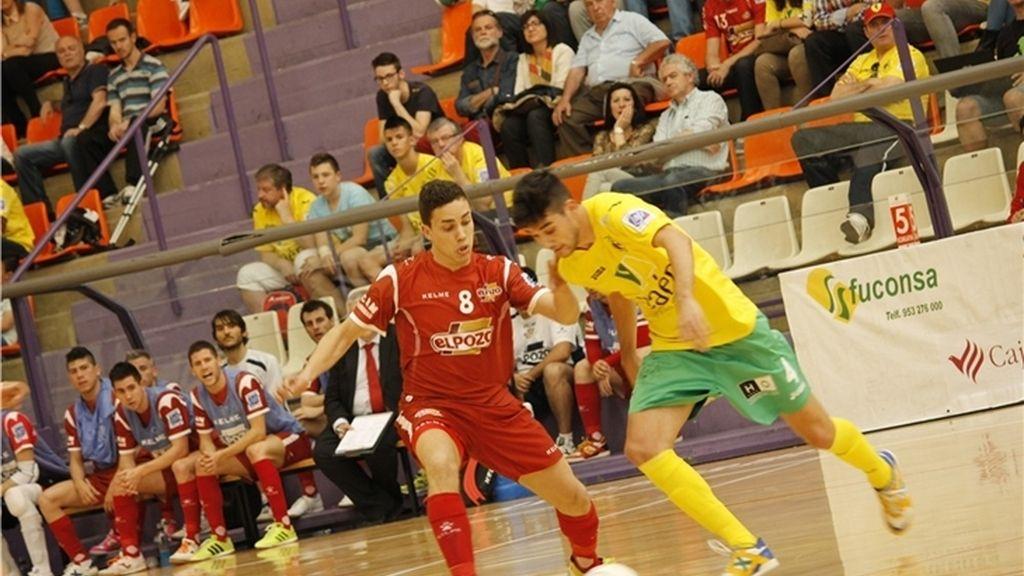 ElPozo sigue firme en la pelea por la segunda plaza tras vencer a Jaén (3-6)