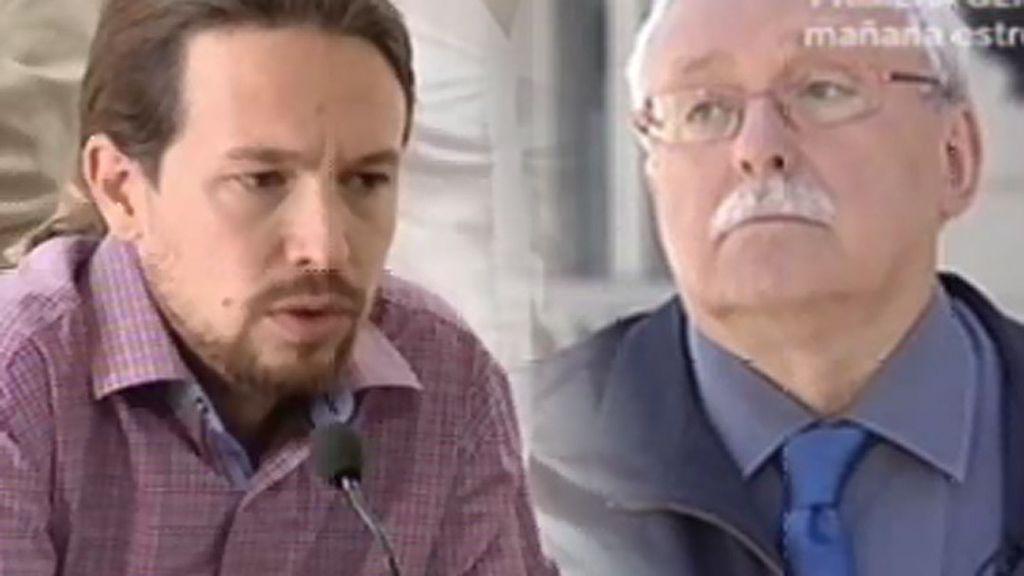 """Leguina, de P. Iglesias: """"Es un demagogo profesional y como tal, yo lo denuncio"""""""