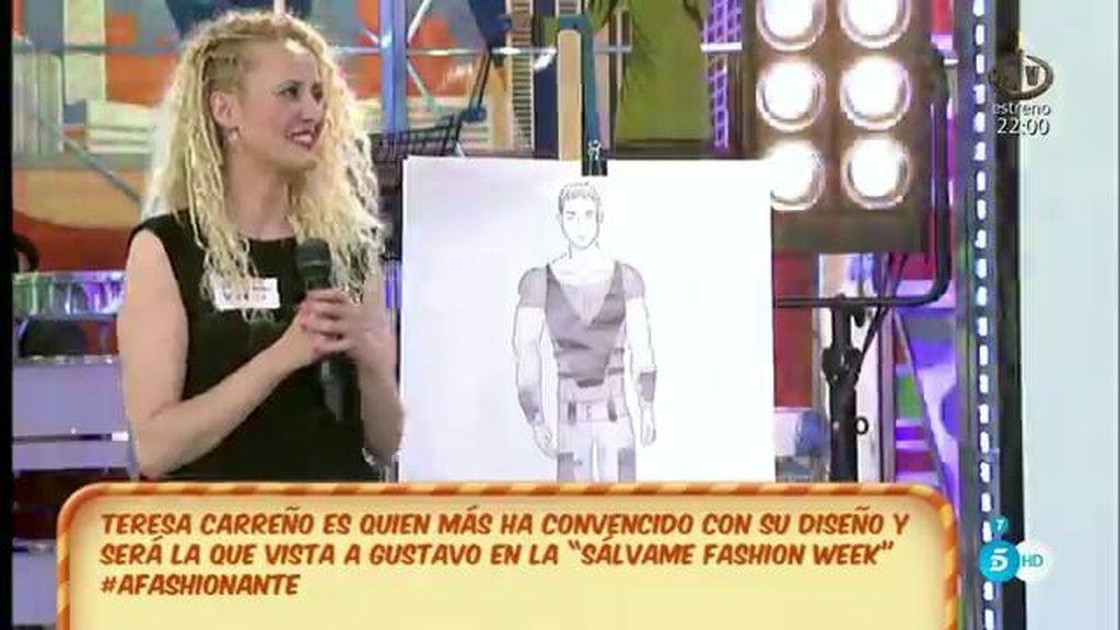 Un diseño a lo 'gladiador' para Gustavo González en la 'SFW'