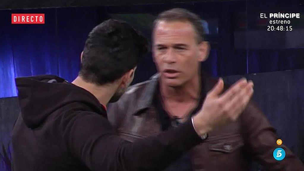 """Carlos, a Ale: """"No se te puede decir nada"""""""