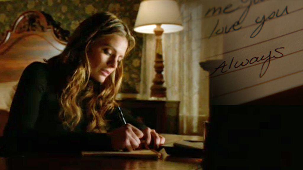 Beckett le escribe una carta de despedida a Castle antes de morir