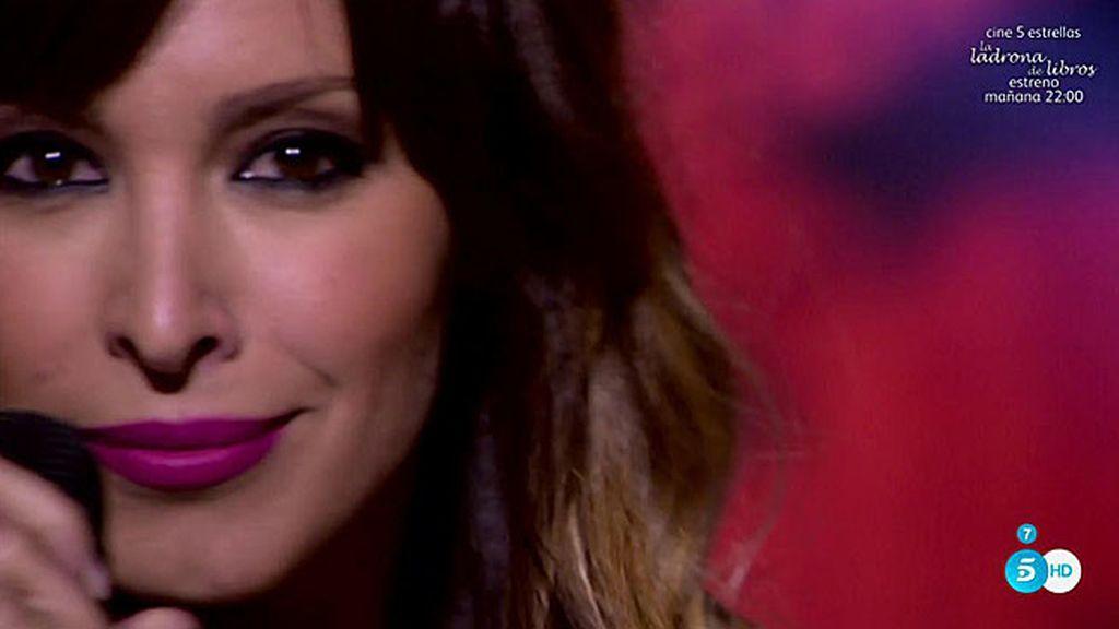 Gisela hace vibrar el plató de 'Sálvame' con su nuevo exitazo 'Sigue el ritmo'