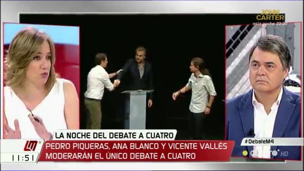 "Tania Sánchez: ""No podéis seguir diciendo a la gente que va a venir el apocalipsis"""