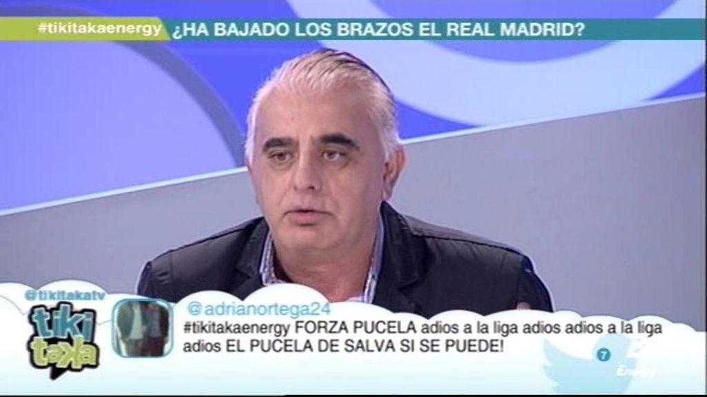 """Pedro Pablo san Martín: """"El Real Madrid ha estado empanado y descabezado"""""""