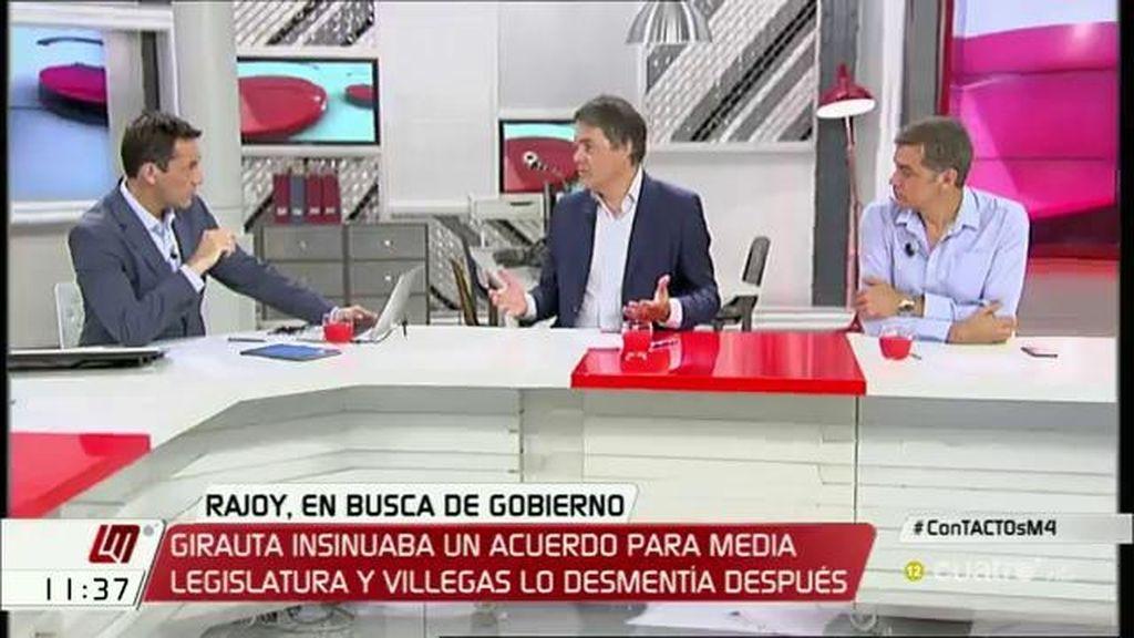 """T. Cantó: """"Además de tender la mano y hablar de vicepresidencias, que Rajoy hable de temas en los podamos llegar a acuerdos"""""""
