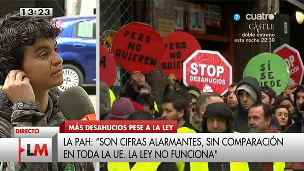 """Lucía Martín: """"Las cifras ponen de relieve la situación de emergencia habitacional"""""""