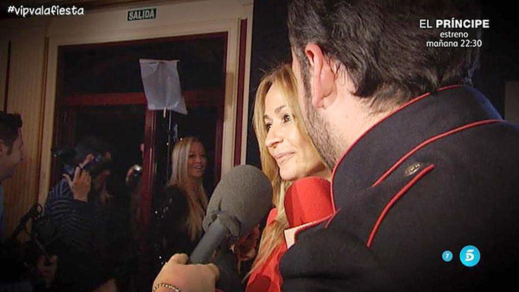 Así fue el reencuentro de Belén Esteban y Olvido Hormigos durante la fiesta de 'GH VIP'