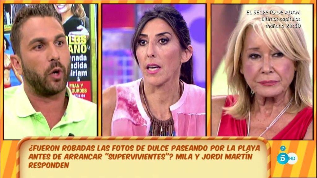 Dulce y su representante pactaron un reportaje a espaldas de 'Supervivientes', según Jordi Martín