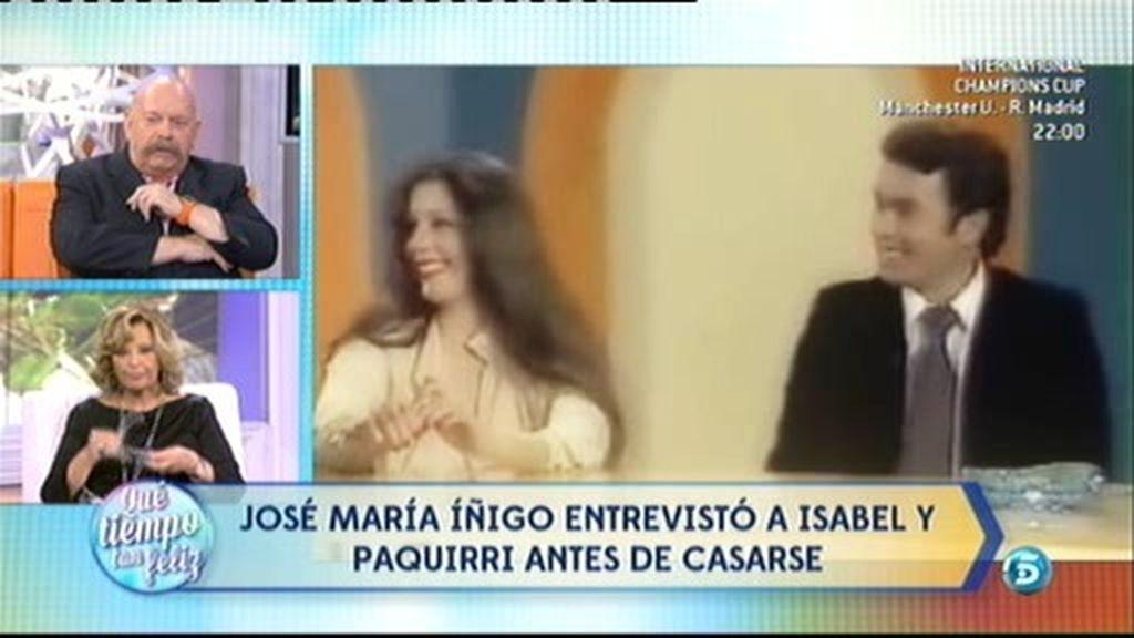 ¡La primera entrevista en TV de Isabel Pantoja y 'Paquirri' juntos!
