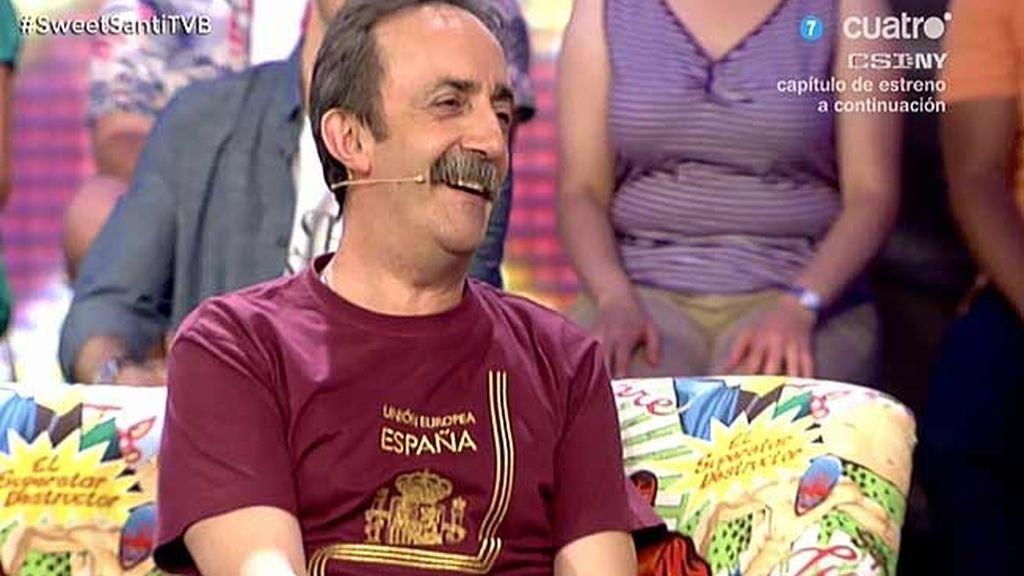 Santi Rodríguez presenta en exclusiva su nueva serie: 'Gym Tony'