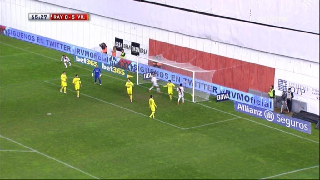 Gol de Castillo (Rayo 1-5 Villarreal)