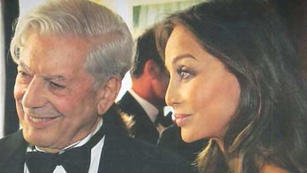 Isabel Preysler y Mario Vargas Llosa fotografiados juntos en un almuerzo para dos
