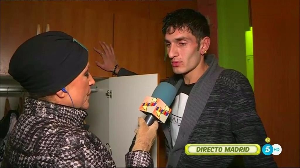 """Alin, novio de 'La Veneno': """"Me quedaré aquí hasta que me traigan una orden del juez"""""""