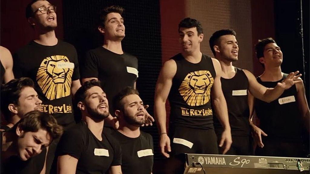 Los chicos de 'Dreamland' se presentan al casting de 'El rey león'