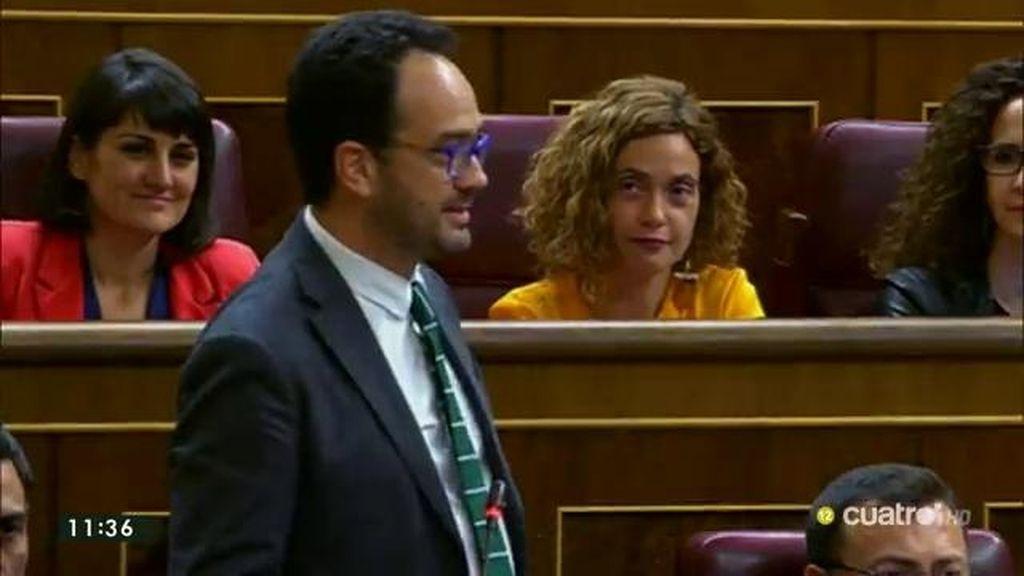 """Antonio Hernando: """"El Gobierno ha huido de sus fantasmas del pasado y del presente"""""""