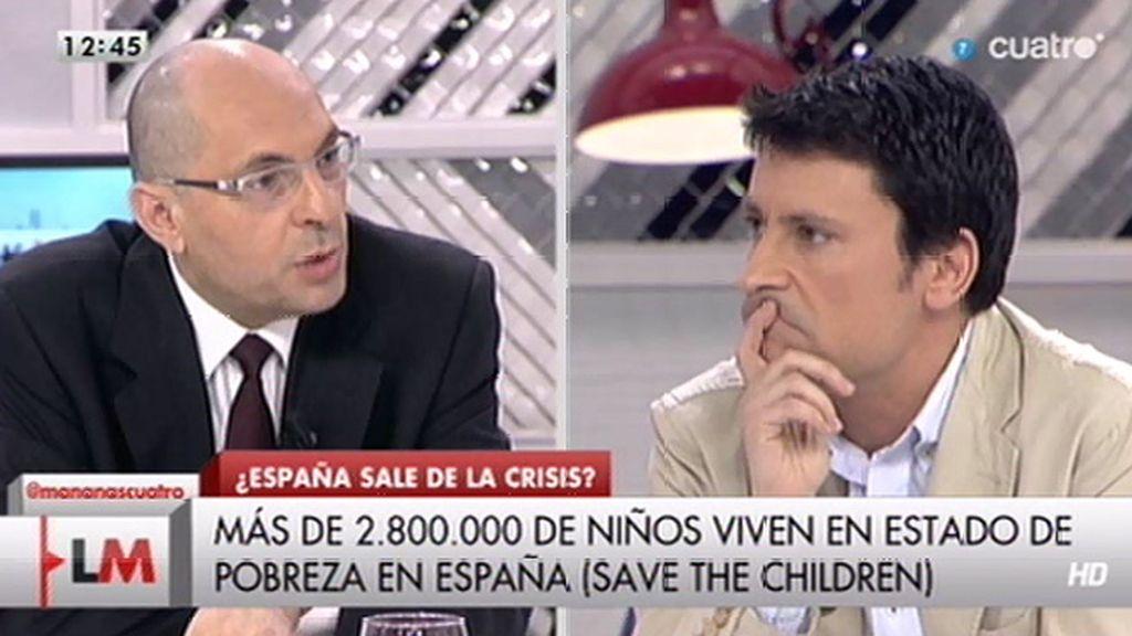 """J. L. Pérez, a Silva: """"No se puede decir que el Gobierno quiera que la gente siga sufriendo"""""""