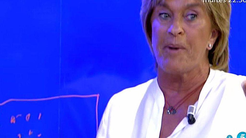 """Chelo: """"Me han contado que Isabel Pantoja pidió una tele de plasma"""""""