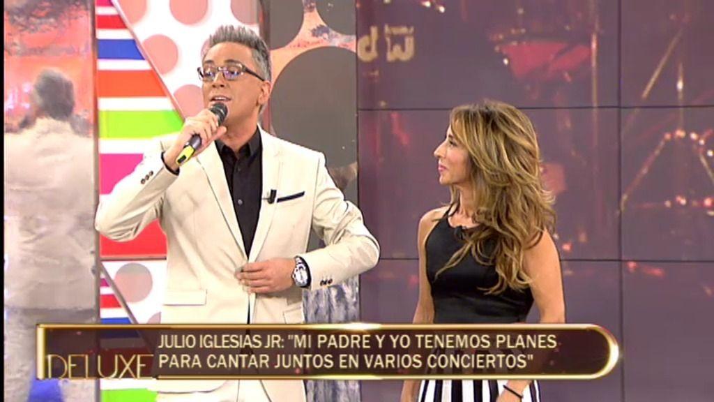 El momentazo del 'Deluxe': Kiko Hernández se atreve a cantar...¡¡como Julio Iglesias!!
