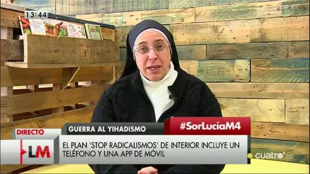 La entrevista a Sor Lucía Caram, a la carta