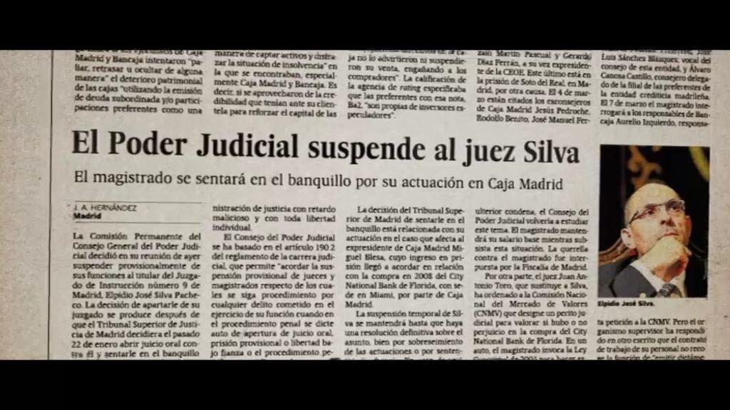 """Elpidio Silva: """"Soy un juez ciudadano así que voy a defender que se sepa"""""""
