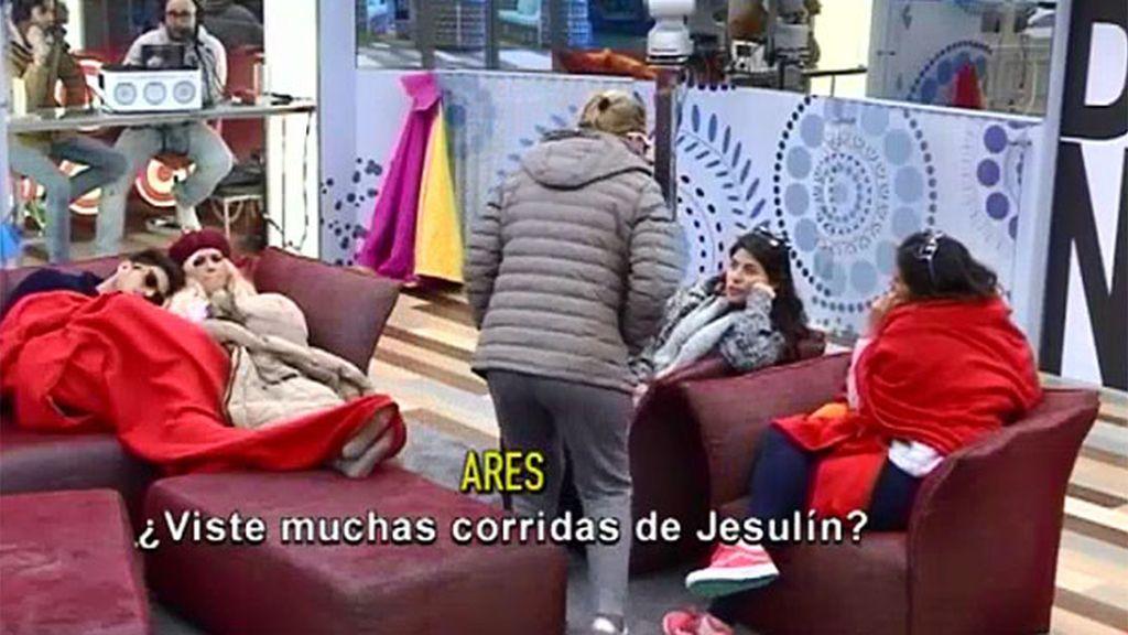 """Belén: """"Jesulín es el mejor torero de España"""""""