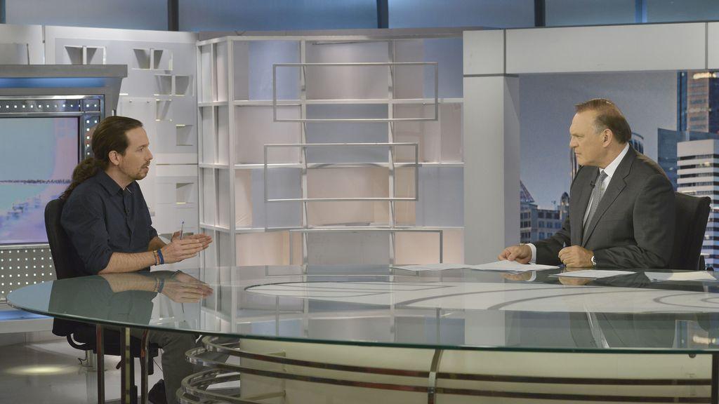 """Pablo Iglesias sobre Monedero: """"Nuestros bolsillos son transparentes"""""""