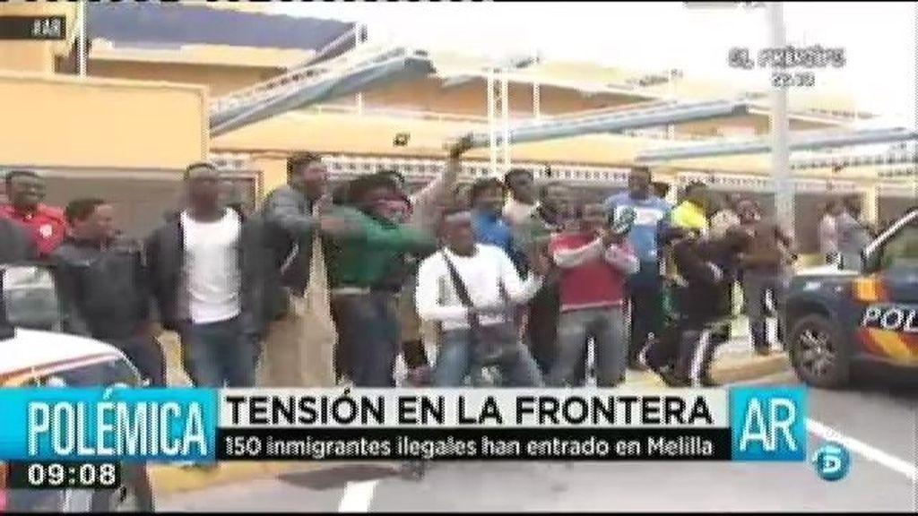 Tensión en la frontera