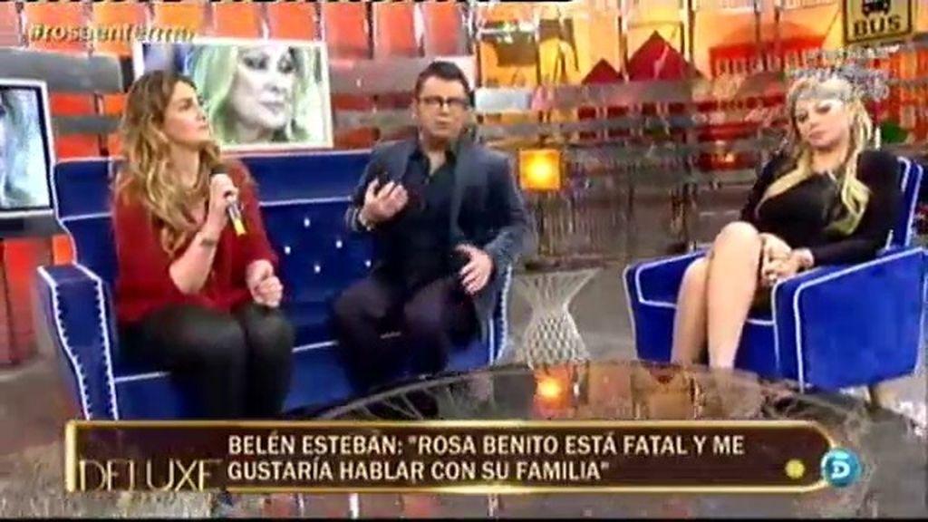 ¿Por qué la familia de Rosa Benito no aclara qué le pasa realmente?