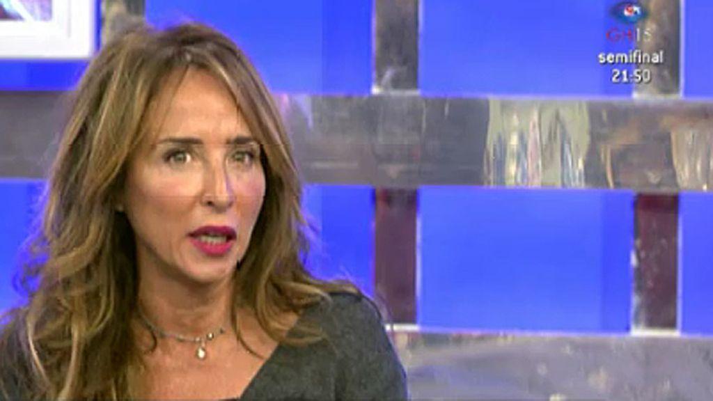 "María Patiño presentará 'Sálvame Deluxe' estas Navidades: ""Para mí es un regalo"""