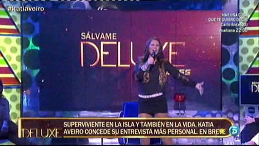 La actuación de Katia Averio en el 'Deluxe'