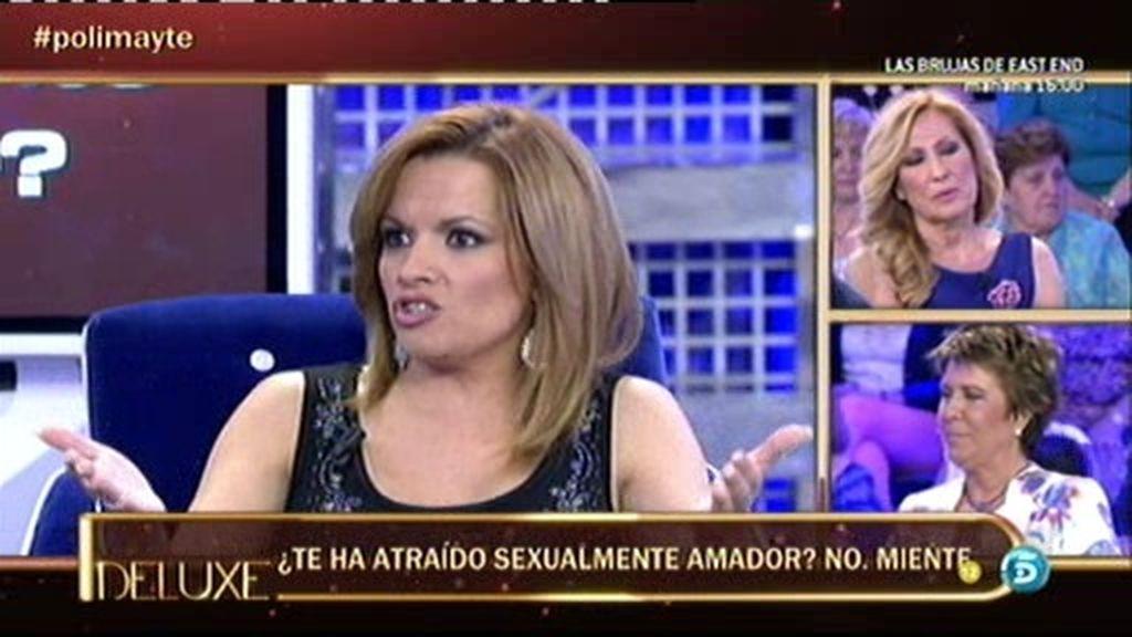 Según el polígrafo, Mayte se ha sentido atraída sexualmente por Amador Mohedano