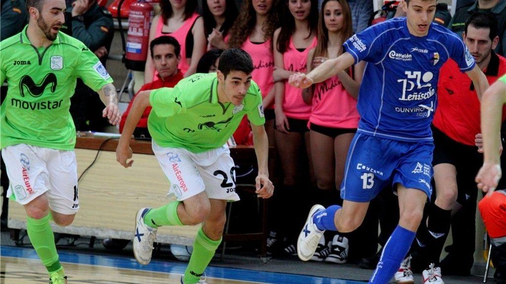 Inter Movistar se proclama campeón de la Liga Regular ante el Peñíscola (1-4)
