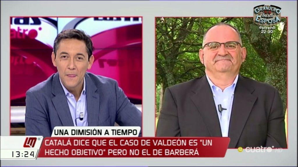 """Losada: """"Todo el que se enfrenta a Rajoy acaba políticamente muerto"""""""