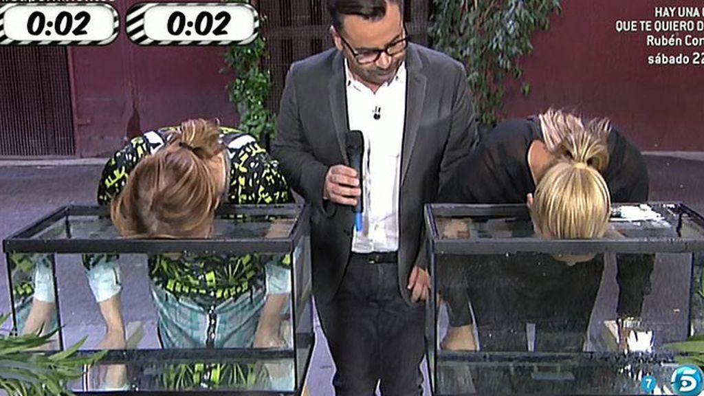 Belén y Mila pasan la prueba de la apnea
