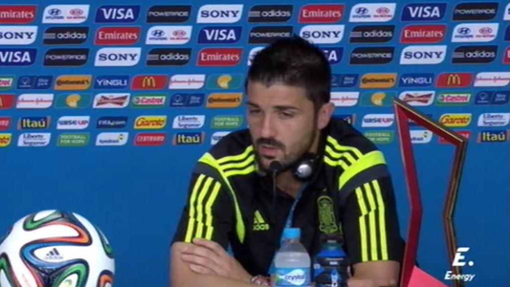 """Villa: """"Si el míster decide volver a traerme, yo encantado, pero hay que ser realista"""""""