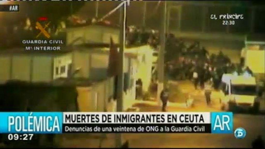 Veinte ONGs denuncia la actuación de la Guardia Civil tras la muerte de quince inmigrantes