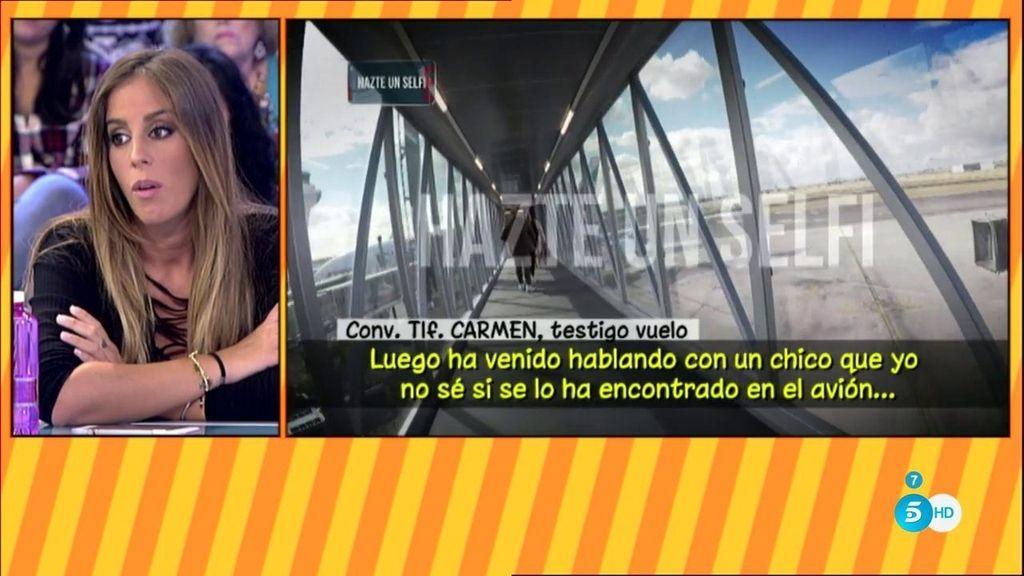 Una testigo asegura que Kiko Rivera e Irene no se hablaron durante el vuelo