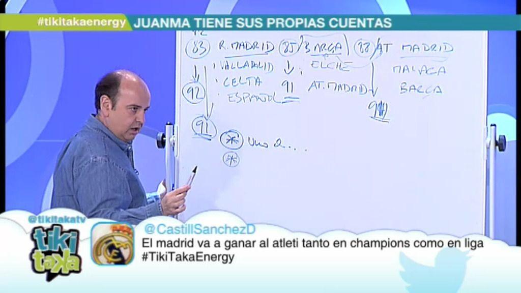 Juanma Rodríguez apunta a las tramas para que el Madrid no gane la Liga