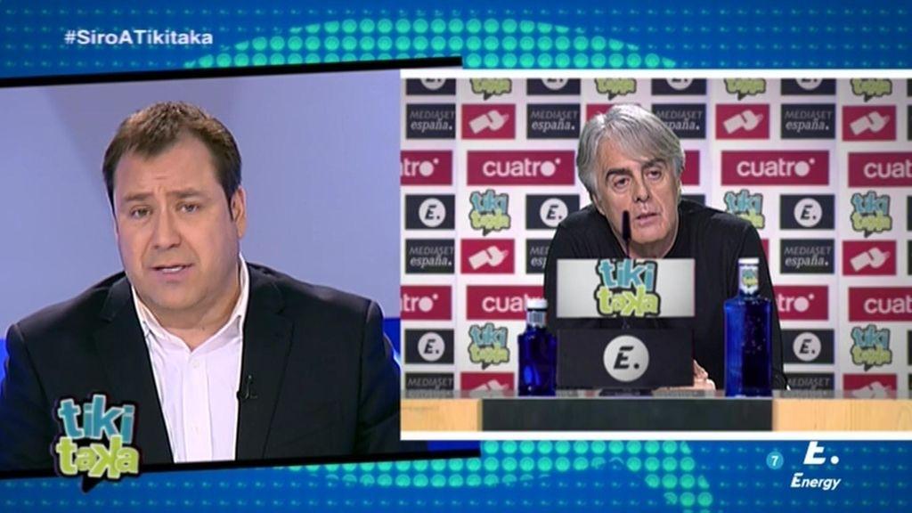 "Siro López: ""Me he sentido traicionado"""