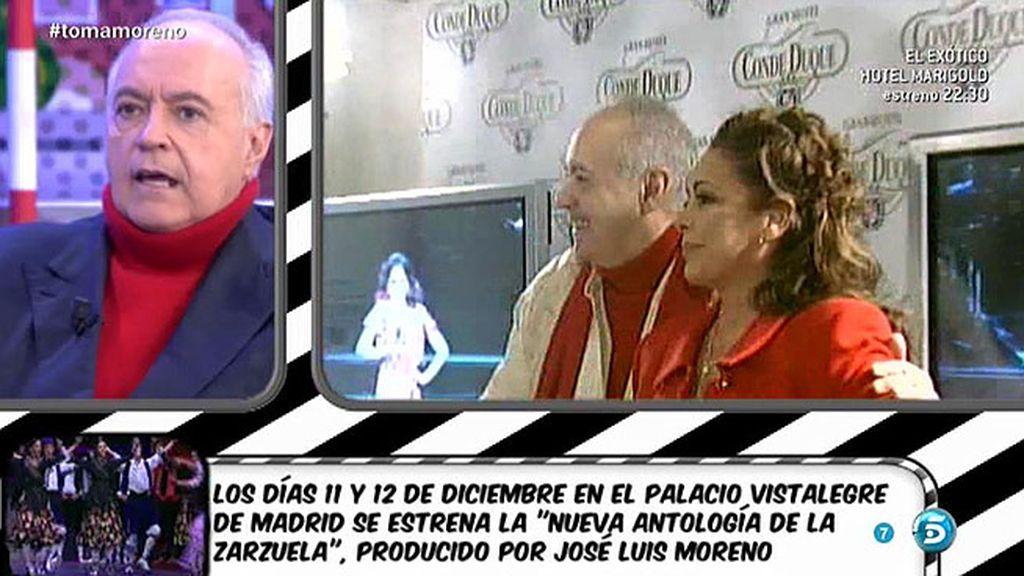 """José Luis Moreno: """"Isabel Pantoja nunca va a dejar de ser la genial cantante"""""""