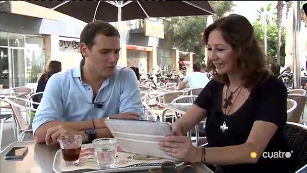 El making off de las 24 horas de Ana Rosa y Albert Rivera, al completo en 'UTN'