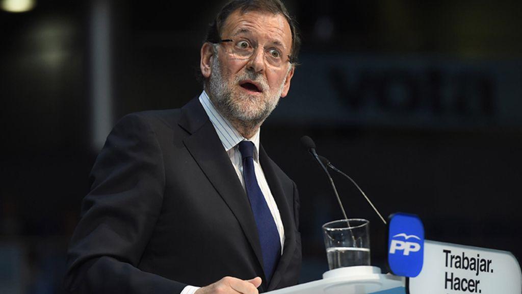 Rajoy cierra campaña en Madrid convencido de que Aguirre será alcaldesa