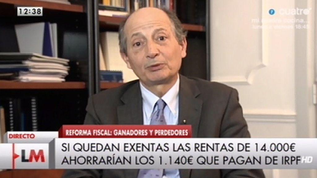 """Fernando Fernández: """"Lo que hemos hecho es un sistema fiscal eficiente y justo"""""""