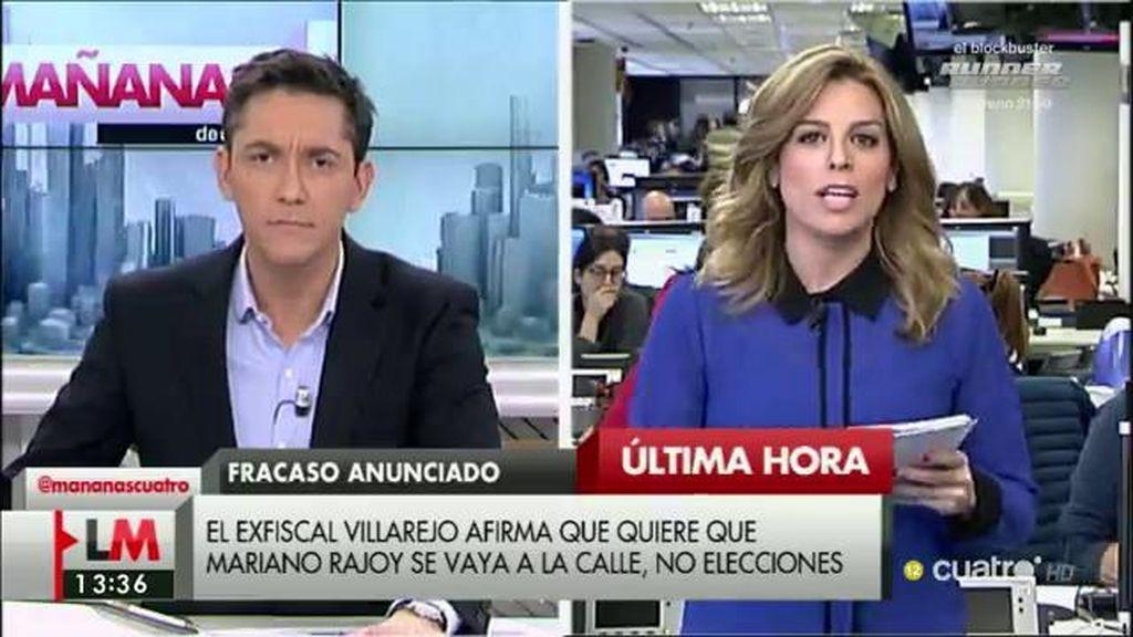 El exfiscal Villarejo rompe con Podemos por no investir a Sánchez, según 'El País'