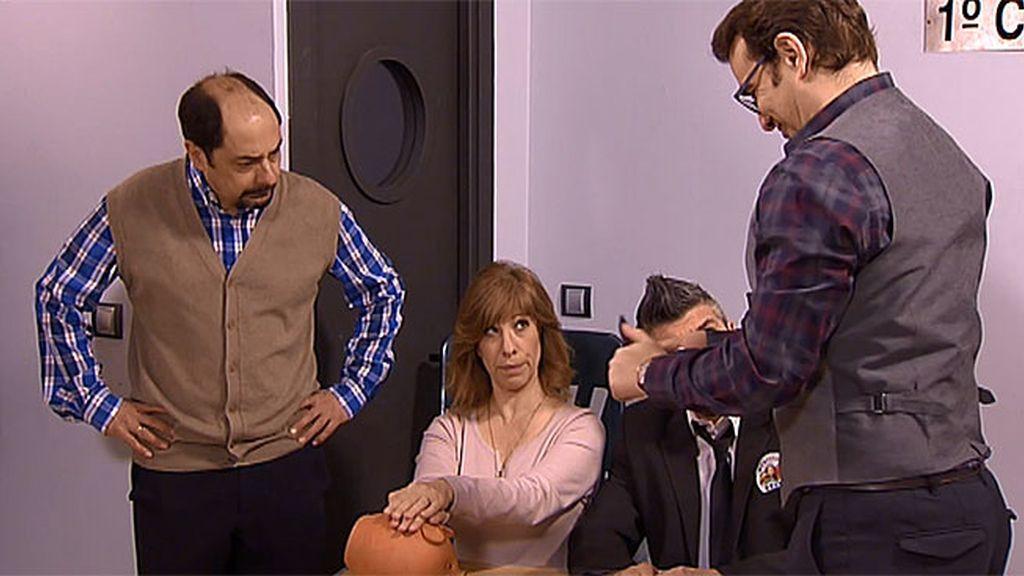 """Antonio: """"Fuera de mi territorio, estáis violando mis fronteras"""""""